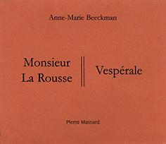 16 A.M. Beeckman M. La Rousse